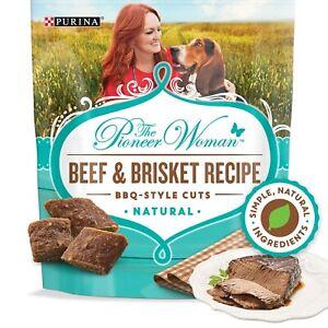The Pioneer Woman Grain Free, Natural Dog Treats, Beef & Brisket Recipe