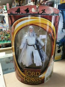 Lord of The Rings The Two Towers Gandalf The White Action Figure Toybiz
