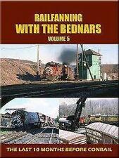 Railfanning with the Bednars Vol 5 DVD NEW Lehigh Valley John Pechulis Allentown