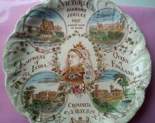1897 Queen Victoria Diamond Jubilee original plate