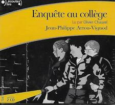 LIVRE AUDIO / LITTERATURE JEUNESSE / ENQUETE AU COLLEGE - J.-P. ARROU-VIGNOD