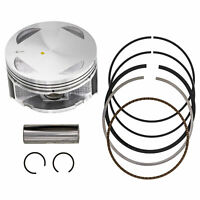 NICHE Piston Wristpin Piston Ring Kit For Honda 1993-2009 Sportrax 300 13101-HM3-670 13102-HM3-670 13103-HM3-670
