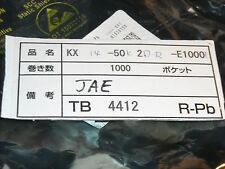 JAE KX14-50K2D-R-E1000E Connectors 50p SMT Recep PCB to PCB .8mm ROHS 98 PCS