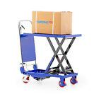 Hubtischwagen Scherenhubtisch Plattformwagen Hubtisch hydraulisch 150 kg