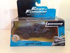 Jada 97040 DOMS 1970 Dodge Cargador R/t Off-Road Rápido y Furioso 7 nuevo 1:32 Escala
