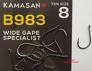 KAMASAN B610 X STRONG FISHING HOOKS size 12-20