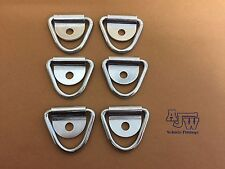 6 X Tie Down Lashing Ring And Cleat HorseBox Van Truck Trailer (Ring Only)