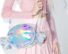 HOLOGRAPHIC Nila Anthony GIMME CANDY Wrapper Crossbody Bag Purse NWT