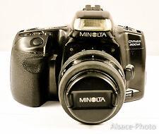 MINOLTA 300si avec zoom  MINOLTA 35-70 mm 3.5-4.5 (1995)