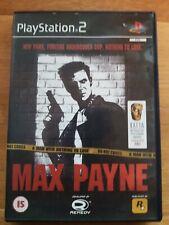 Max Payne UK| Playstation 2| Rockstar Games SEHR GUT in OVP Action PAL| Selten!!