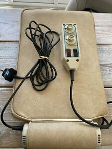 Niagara Massage Pad Deluxe Thermo Cyclopad -Rattle In Hand Unit Works Perfectly