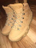 Air Jordan Retro IX 9 Boot NRG Wheat Brown Men's Size 8 (Worn once)