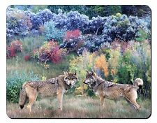 Wolves Print Computer Mouse Mat Christmas Gift Idea Aw-45m