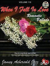 Jamey Aebersold - When I Fall in Love: Romantic Ballads [New CD]