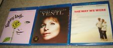 THREE NEW & SEALED BARBRA STREISAND BLU-RAYS, FUNNY LADY, YENTL, THE WAY WE WERE
