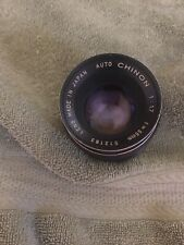 Chinon 55mm F:1.7 Lens