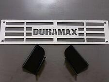 Bumper Grille Insert 2015-2017 Silverado 2500 3500 HD Custom White Duramax