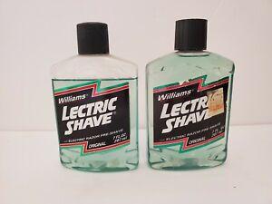 Vintage Original Lectric Shave Electric Pre Shave 7oz Full Bottle & 80% Full