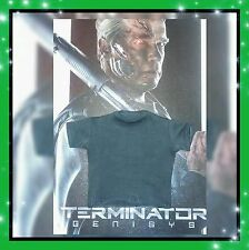 1/6 Hot Toys Terminator Genisys T-800 Gray T-Shirt MMS307 *US Seller*