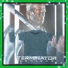 1/6 Hot Toys Terminator Genisys T-800 Gray T-Shirt MMS307 *US Seller*