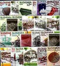 Slovénie - Slovenia 200 timbres différents