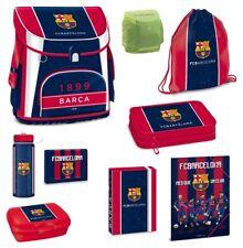 FC Barcelona Fußball Schulranzen Set 9tlg. Turnbeutel Federmappe Dose Flasche