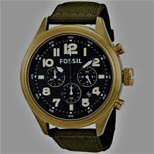 Fossil Men's Vintaged Bronze Chronograph Watch- DE5018 für Herren NEU & OVP