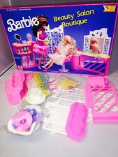 New 1989 Vintage Barbie Beauty Salon Boutique