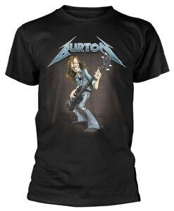 Metallica 'Cliff Burton Squindo Stack' (Black) T-Shirt - NEW & OFFICIAL!