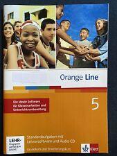 Orange Line 5: 9. Kla. Standardaufgaben mit Audio-CD + Lehrersoftware KLAUSUREN