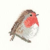 Heritage Crafts Little Friends Robin Cross Stitch Kit