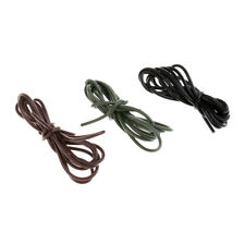 3 x 1m Silicone Rig Sleeves Carp Fishing Tackle Hook Rig Tube Line Connector