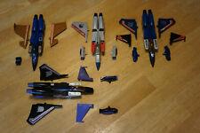 Transformers G1 Jet Seekers Lot Skywarp Dirge Starscream Thundercracker