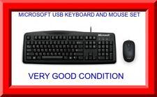 Genuine Microsoft USB Keyboard and mouse set