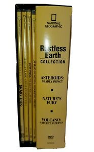 National Geographic 7 DVD Restless Earth Collection Asteroids, Nature's Fury