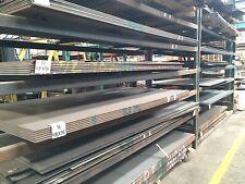 """1/4"""" .250 HRO Steel Sheet Plate 12"""" x 24"""" Flat Bar A36"""