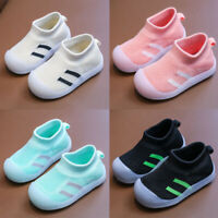Toddler Infant Baby Kids Girls Boys Casual Breathable Soft Sports Sneakers Shoes