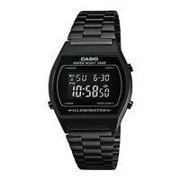 CASIO Vintage Retro Series Black Stopwatch Classic Digital Watch B640WB-1B