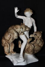 OFFER Hutschenreuther Porcelain figurine Jealousy Tutter china figure RARE