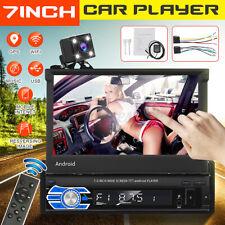 1 Din 7' Car Mp5 Stereo Player bluetooth WiFi Gps Fm Audio In-Dash Units Camera