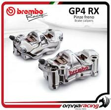 2 pinzas Radial Brembo Racing obtenida CNC GP4 RX GP4RX P4 32 100mm SX+DX + past