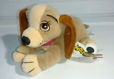 Disney's Lady & the Tramp Mini Bean Bag Toy Plush Tags Mouseketoys Walt World