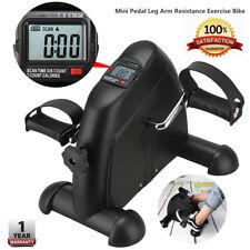 Mini Pedal Exercise Bike Leg Arm Resistance Cycle Exercise Workout Seat Fitness
