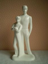 Royal Doulton China Figure : 'Images' Series : Father and Son (HN4448) : England