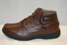 Propet MF001 Four Points Mid 2 Brown Leather Lace up Boot Men's size 9 wide 3E