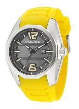 Police Men's PL.94764AEU/13 Quartz Watch with Grey Dial Analogue Display and ...