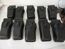 10 Bianchi AccuMold Elite Universal Radio Holder Holster Fits Motorola Mts, Xts