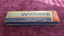 Hohner Weekender Tremolo Harmonica With Box