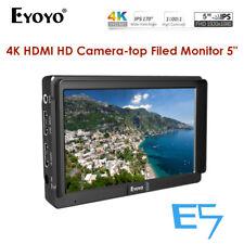 Eyoyo 5 Inches Ultra FHD Slim On-Camera Monitor E5 4K IPS For Panasonic Sony DJI