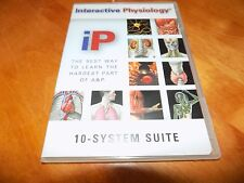INTERACTIVE PHYSIOLOGY 10 System Suite CD-ROM Windows MACINTOSH Medical Study